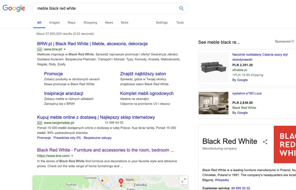 słowa kluczowe w kampaniach google ads
